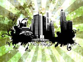 City Scaspe by villanitadesign