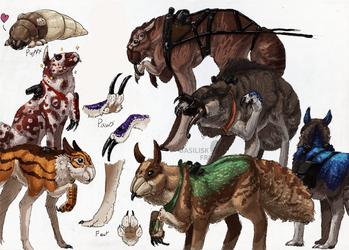 Rinka: SpiderDogs by basiliskFree