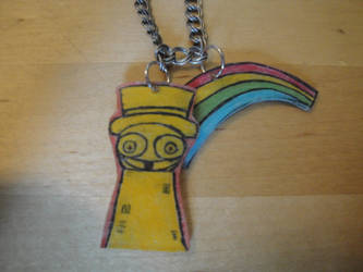 Superjail Happy Tower Necklace by Psycho7772