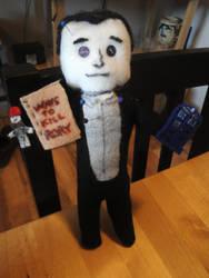 Steven Moffat Voodoo doll SALE by Psycho7772