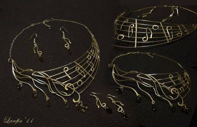 Music-of-the-rain by Laurefin-Estelinion