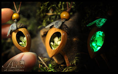 The gargen of small fairy.Glow in the dark.details by Laurefin-Estelinion