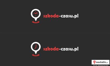 Szkoda-czasu - logotyp by Dziuniart