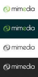 Logotyp Mimedia by Dziuniart