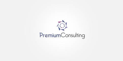 Logotyp PremiumConslulting by Dziuniart