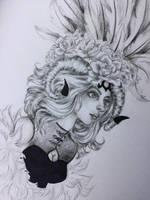 Lady of the dark by Starlightliquid