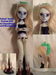 Cobalt Tangle Custom MH Doll by Chanditoys