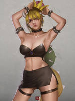 Bowsette by Ocetee