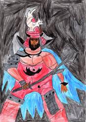 Great Shogun Shien by LOrdalie