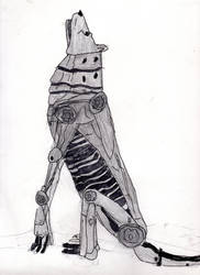 Metal Wolf by LOrdalie