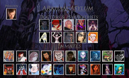 New Faces at Arkham Asylum! (Arkham Asylum meme) by sonicarchiefan45