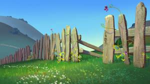 Sheepland Fence by jeremyengleman