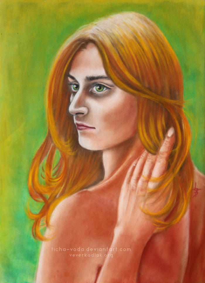 Alvir - portrait of the Muse by Ticha-Voda