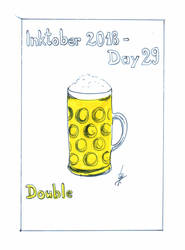 Inktober2018_29 - Double by Ticha-Voda