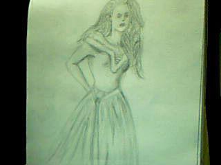 Vampire lady by macaronisheep
