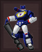 Commission - Nkfloofiepuff - Soundwave by shibara-draws-mecha