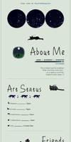 F2U PAGE CODE : Black Cats At Night by RayatheRayquaza