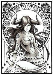 Taurus by delfee