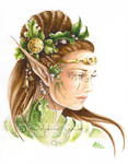 The queen elf by delfee