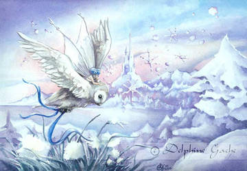 The little messenger of Winter by delfee