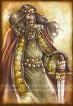 King Arthur by delfee