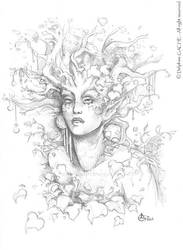 Portrait of a Dryad by delfee