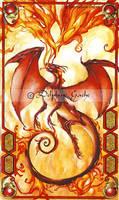 Fire heart by delfee