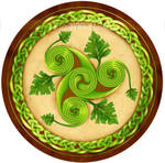 Triskel - Oak spirit by delfee