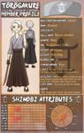 [TG] Kaoru Asukai - Academy by PenelopeJadewing