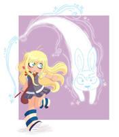 Luna Patronus by yllya