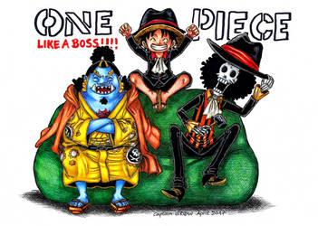 Like a Boss!!! by Captain--Ruffy