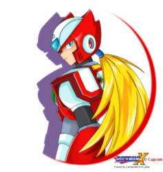 Zero - Megaman X by CarmenMCS