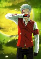 Persona 3 - Akihiko by CarmenMCS