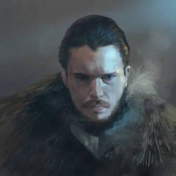 Jon Snow. by NicholasOsagie