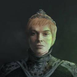 Cersei Lannister. by NicholasOsagie