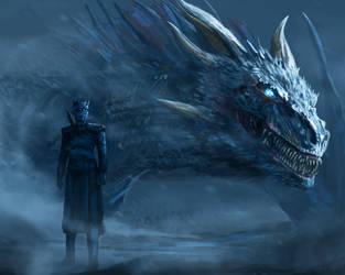 White dragon. by NicholasOsagie