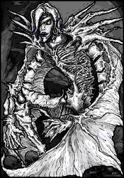 Shinigami Rem by UltraViolete