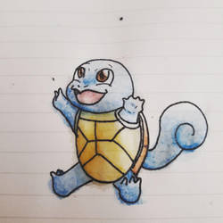 Squirtle watercolour by MagicalRave