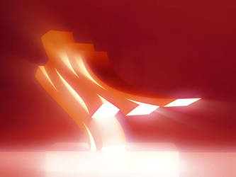 Light Sculpture by love1008