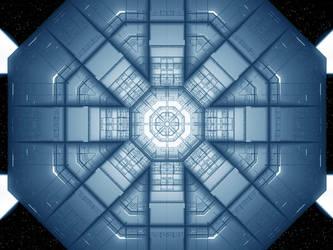 fractal SpacePlatformandala by love1008