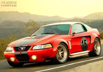 AC Mustang Daytona Coupe by frivasbx