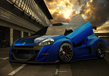 Renault Clio Trophy Proto by frivasbx