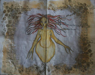 Art Journal - Golden Hope by shioneh