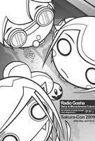 Sakuracon 2009 flyer by GoshaDole