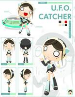 -RADIO GOSHA- Female Catcher by GoshaDole