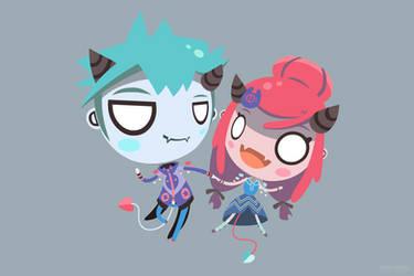 Click Bait Character Reference #2 - Radio Gosha by GoshaDole