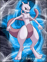 Mewtwo by Bridgeotto