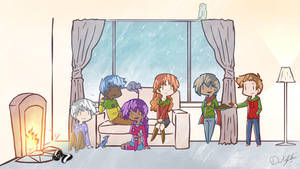 Rainy Days Holidays 2015 by Saber-Cow