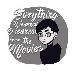 Audrey Hepburn by Misspingu