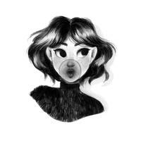 Gum Girl by Misspingu
